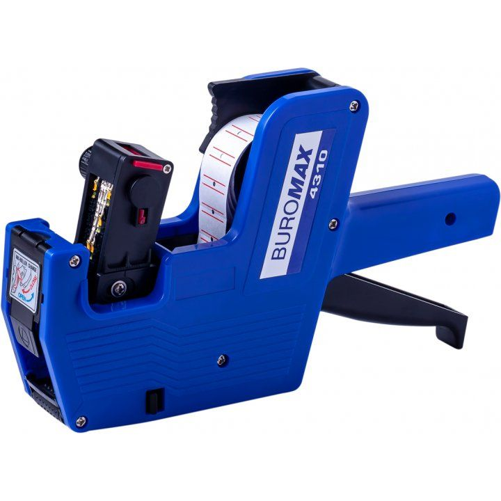 Этикет-пистолет Buromax синий (BM.4310)