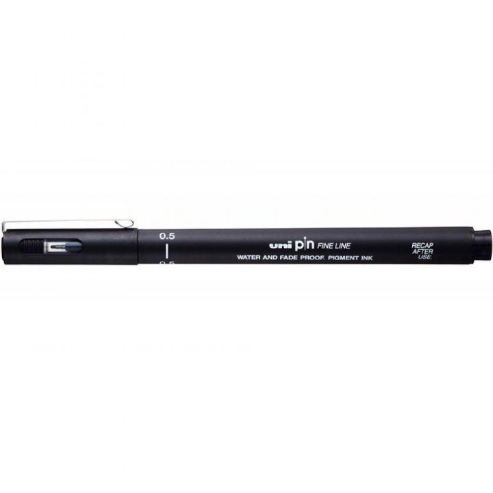 Ручка лайнер Uni Pin Fine Linе черная 0.5 мм (PIN05-200.Black)