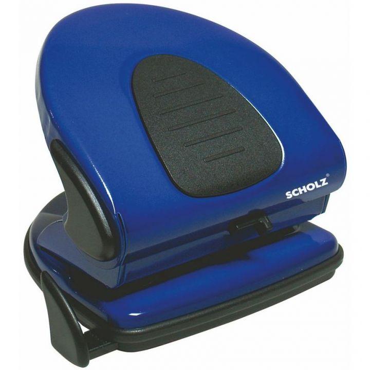 Дырокол металлический Scholz синий 30 листов (4314 blue)