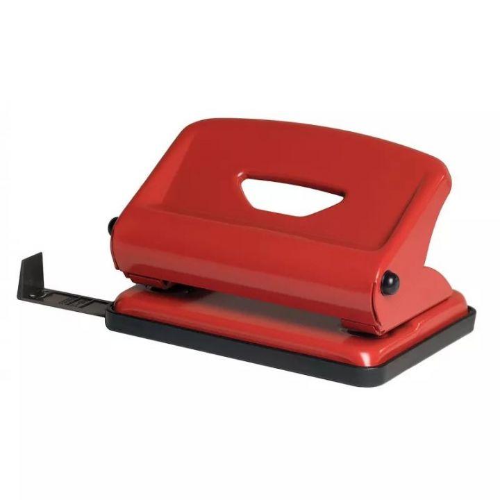 Дырокол металлический Scholz красный 25 листов (4318 red)