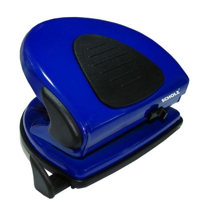 Дырокол металлический Scholz синий 20 листов (4319 blue)