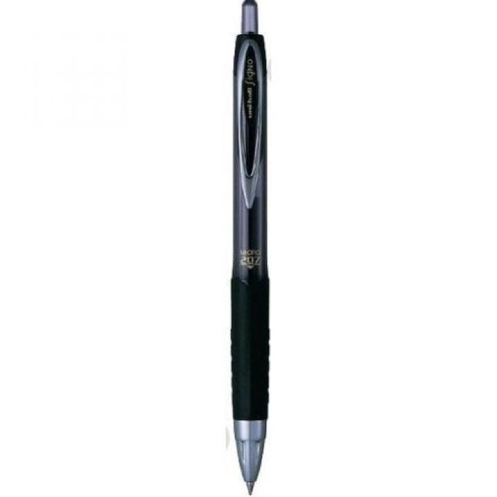 Ручка гелевая автоматическая Uni (UMN-207.Black)
