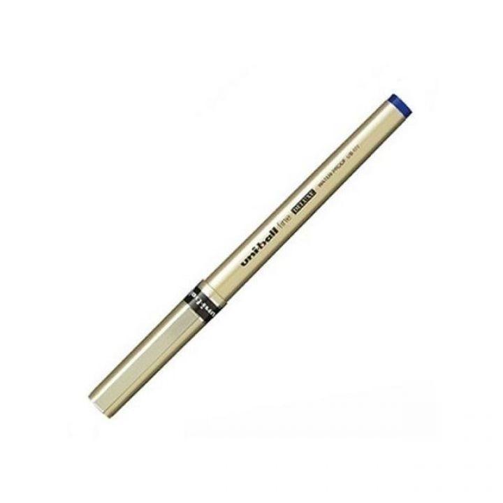 Ручка ролер Uni uni-ball fine DELUXE синя 0.7 мм (UB-177.Blue)