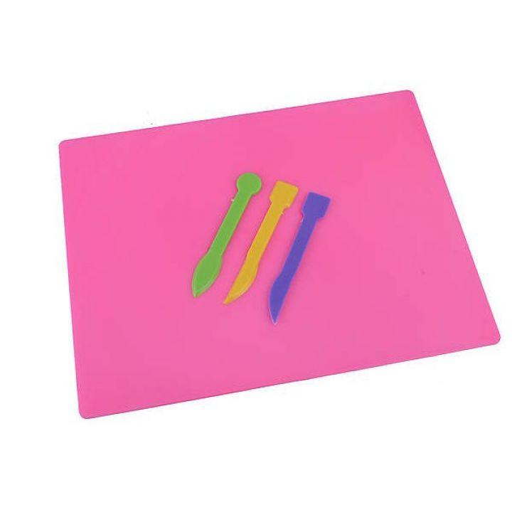 Доска для пластилина ZiBi розовый (ZB.6910-10)