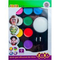 Фарби для гримування обличчя і тіла