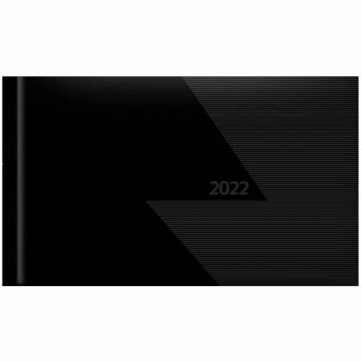 Щотижневик 2022 Leo Planner Velvet А6 112 листов чорний (252160)