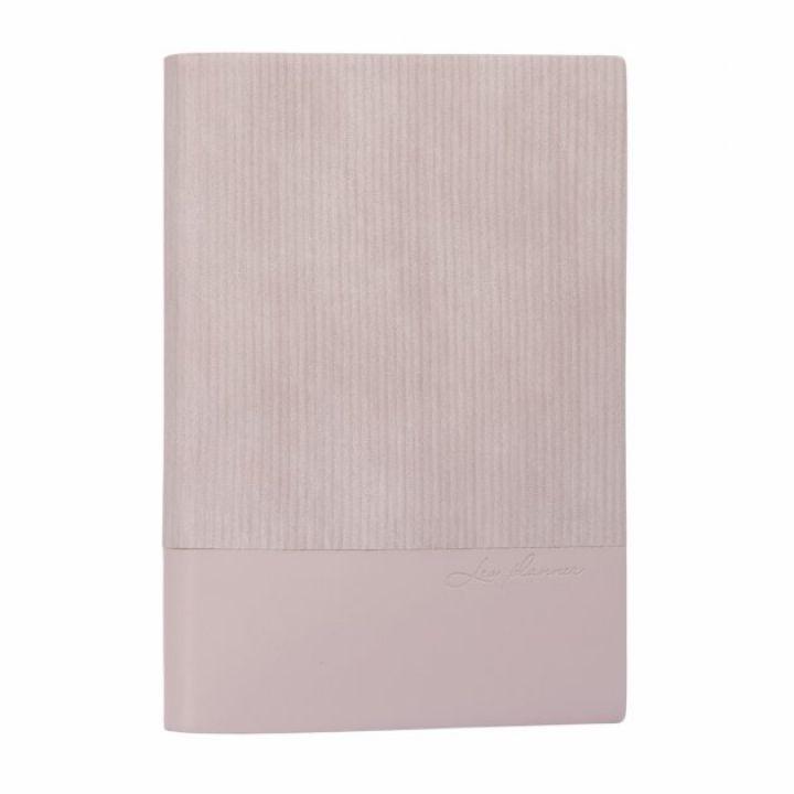 Щоденник недатований Leo Planner Velvet А5 352 листов світло-сірий (252167)