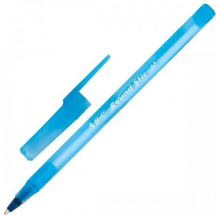 Ручка кулькова BIC Round Stic синя (9214031)