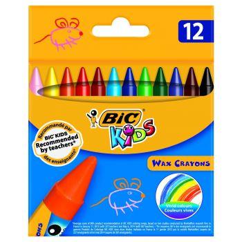 Восковые мелки Wax Crayons
