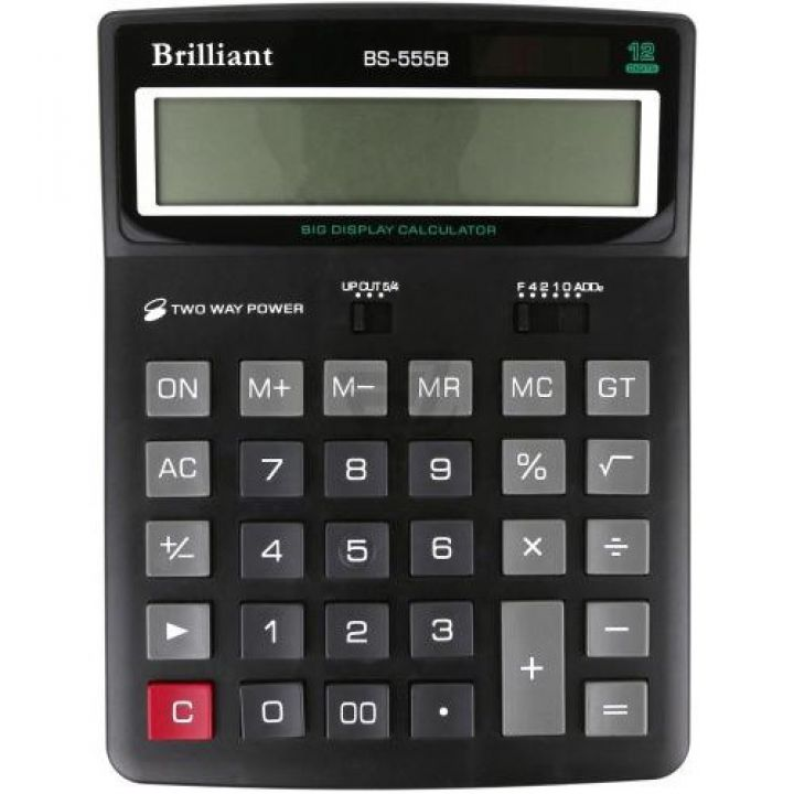 Калькулятор електронний Brilliant (BS-555)