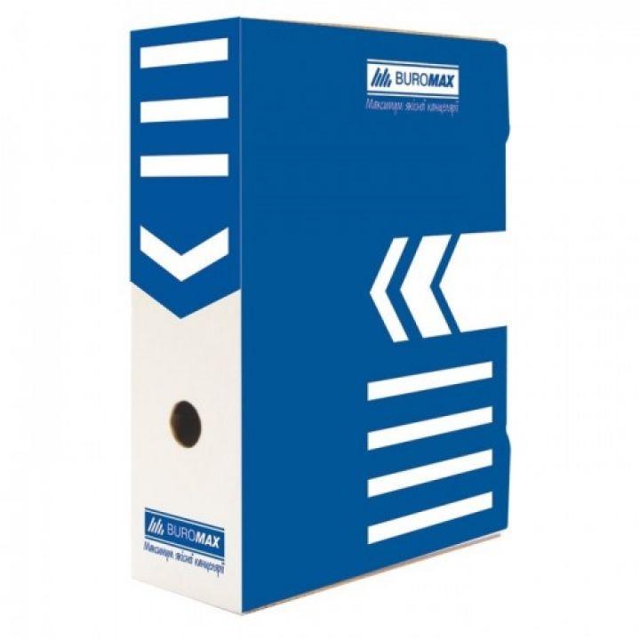 Архівний бокс для документів Buromax синій (BM.3260-02)