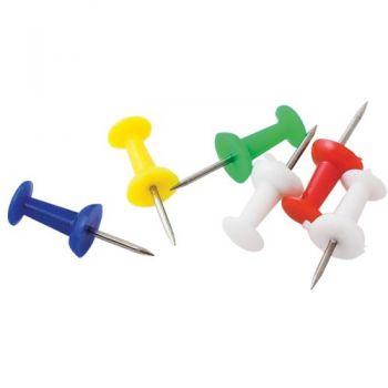 Кнопки гвоздики цветные