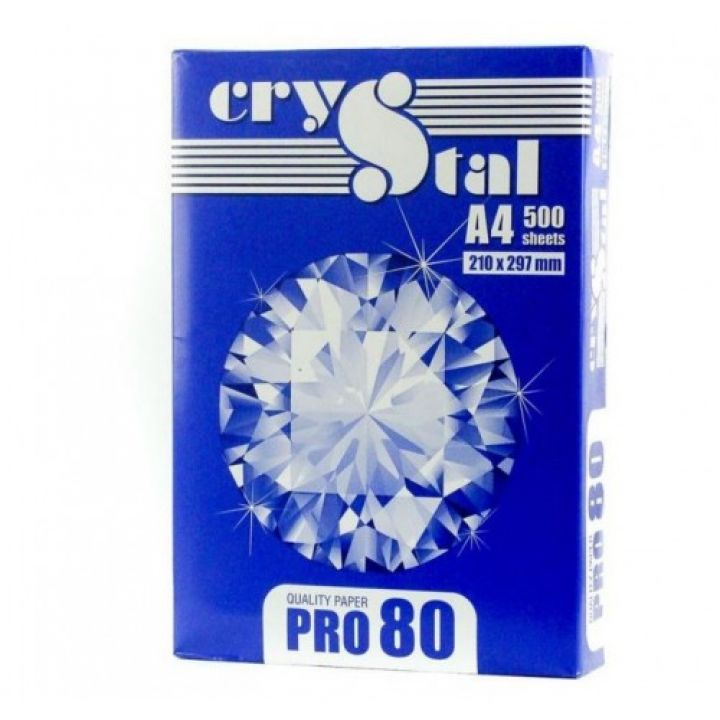 Папір офісний Crystal Pro А4 80 г/м2 500 листов (16.3791/5)
