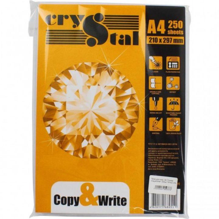 Бумага для офисной техники Crystal Copy & Write А4 70 г/м2 250 листов (01251909)