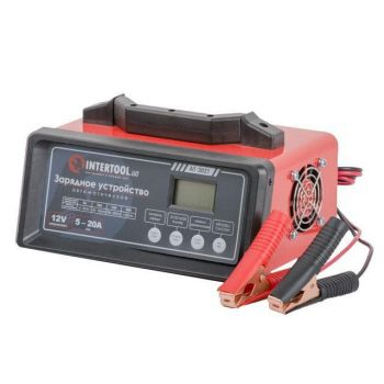 Зарядное устройство 12В, 5/10/15/20А, 230В, режим реанимации, десульфатации аккумулятора