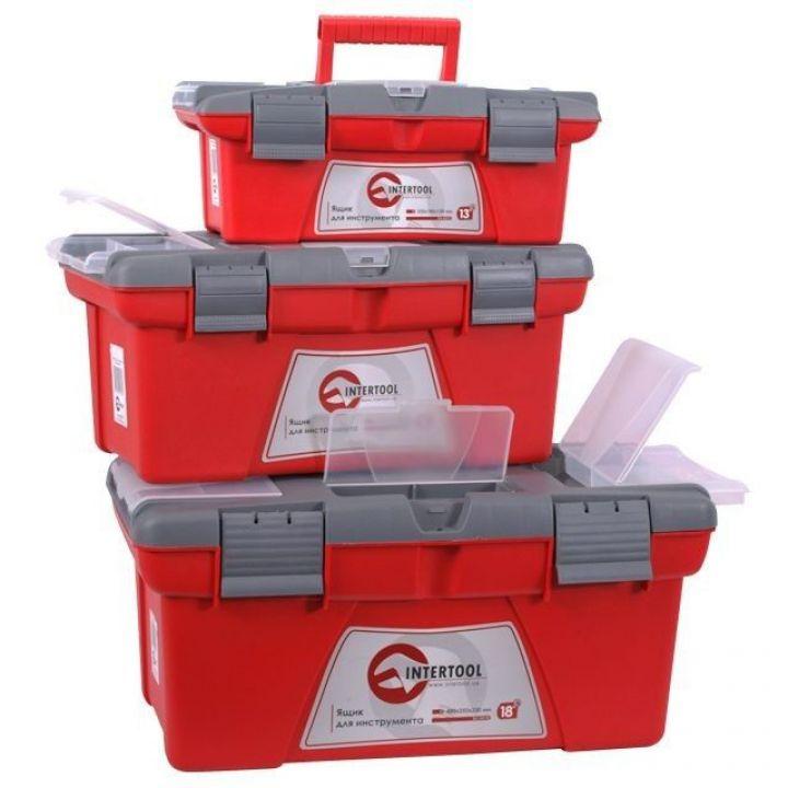 Комплект ящиків для інструменту 3шт (ВХ-0413 13
