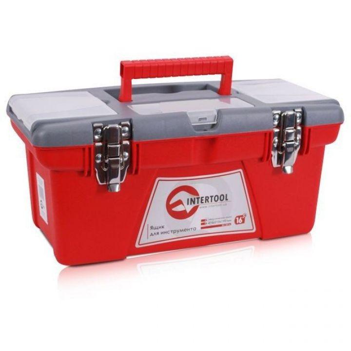 Ящик для інструментів з металевими замками   INTERTOOL (BX-0516)