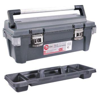 Ящик для інструменту з металевими замками 25.5