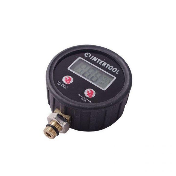 Цифровий манометр, 10 Атм INTERTOOL (PT-0501)