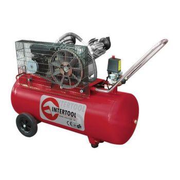 Компрессор 100л, 4HP, 3кВт, 220В, 8атм, 500л/мин, 2 цилиндра
