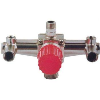 Контрольно-распределительный блок компрессора с регулятором давления [PT-9092]
