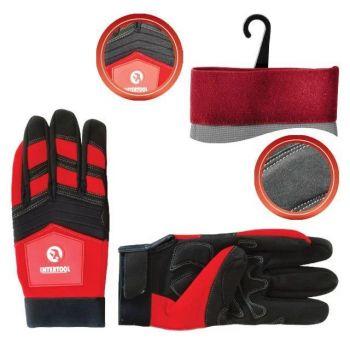 Перчатка Microfiber тканевая красная