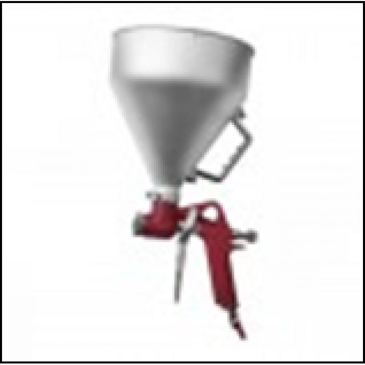 Штукатурний розпилювач, три форсунки 4; 6; 8 мм, В / Б металевий, 6000мл, 3-6b INTERTOOL (PT-0401)