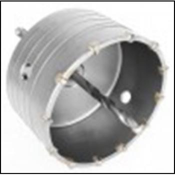 Комплект: сверло корончатое по бетону 105мм + переходник SDS Plus 100мм