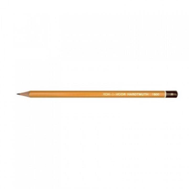 Олівець графітний H KIN1500 KOH-I-NOOR (1500-Н)