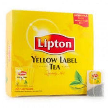 Чай черный пакетированный Yellow Label