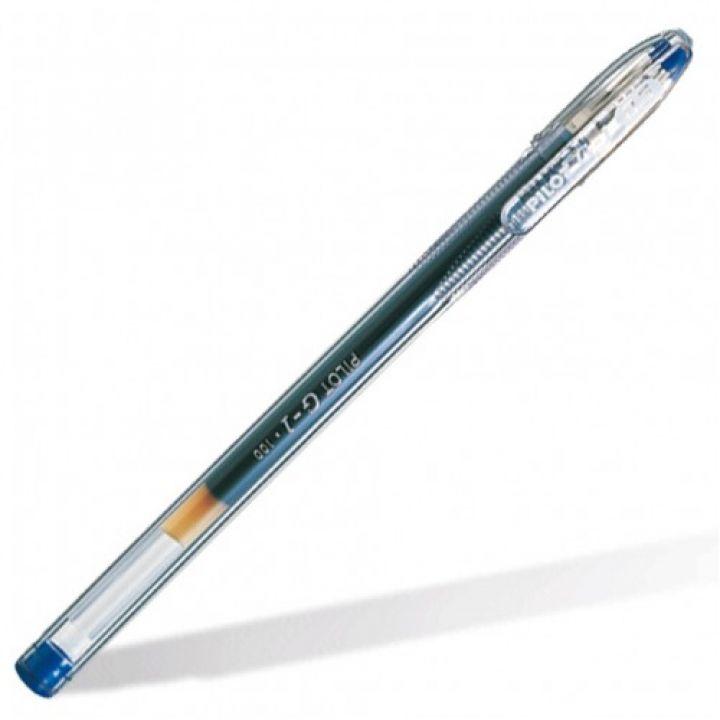 Ручка гелева Pilot синій 0.5 мм (BL-G1-5Т-L)