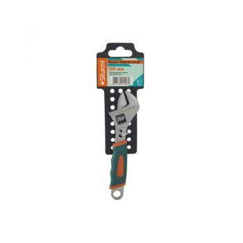 Разводной ключ 160 мм мягкая ручка