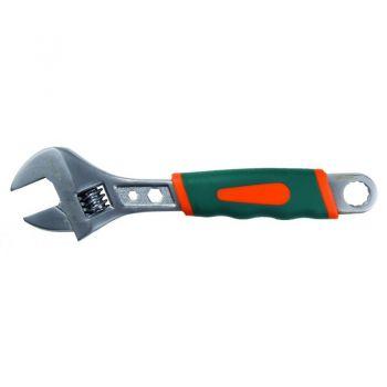 Разводной ключ 200 мм мягкая ручка