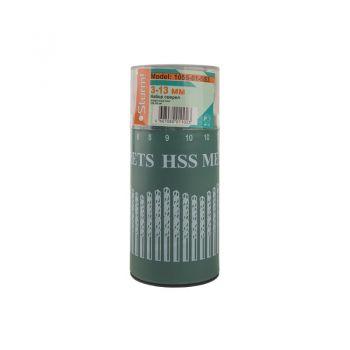 1055-01-SS3 Набір свердел по металу 3-13мм, 16 шт
