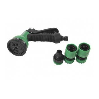 3015-01-8FC Пистолет для полива 8 функц. с адаптерами