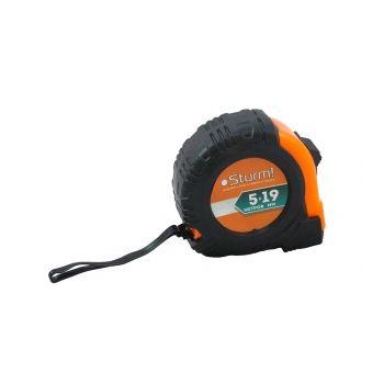 3100402 Рулетка 5м x 19мм обрезиненная с магнитом