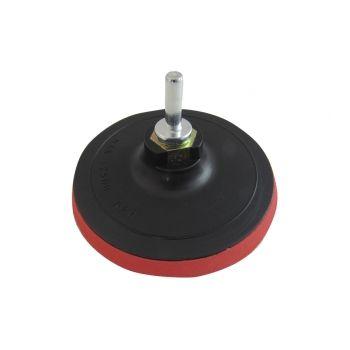5280102 Насадка для ушм и дрели с «липучкой» диам. 125 толщина 2 мм