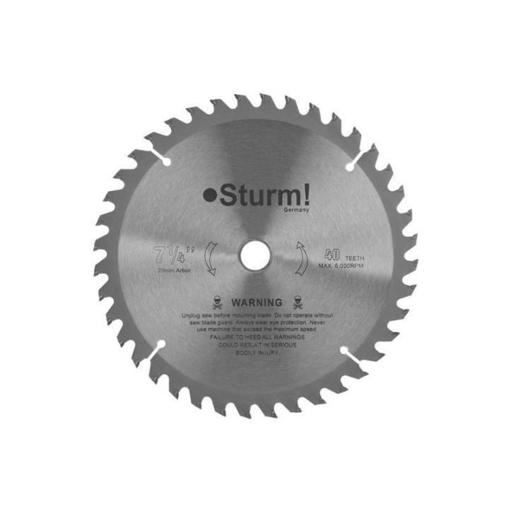 Диск для циркулярної пилки, 60зубьев STURM (9020-01-305x32-60)