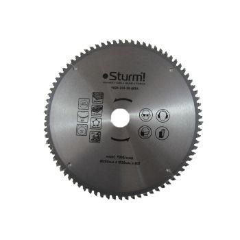 9020-255-30-80TA Диск пильний 255х30 мм 80 зубів ламінат / алюміній / пластик