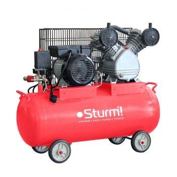 AC9365-50 Воздушный компрессор ременной 50л, 2200 Вт, 336л/мин