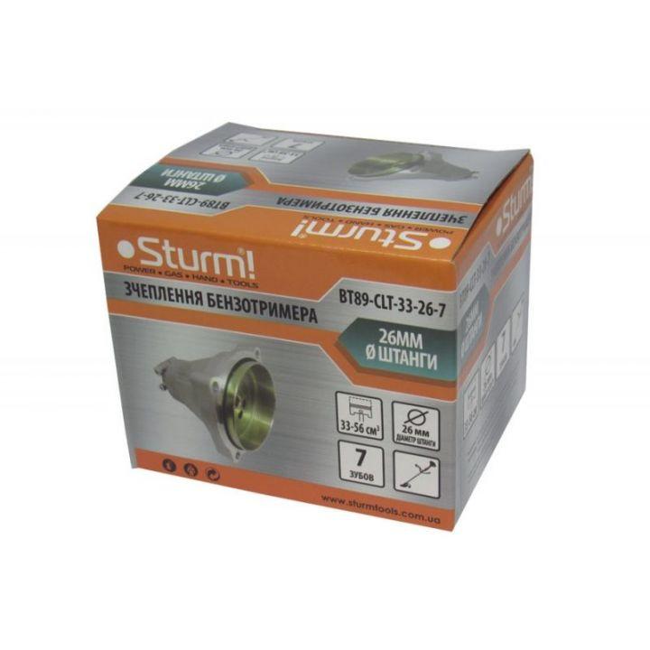 Зчеплення 26мм, 7 зуб (для 33-56 куб.см) STURM (BT89-CLT-33-26-7)