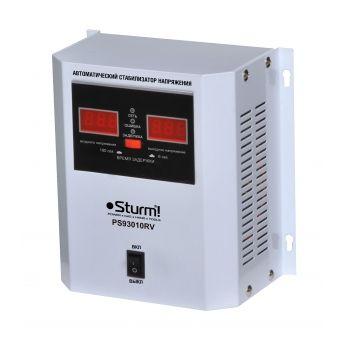 PS93010RV Стабилизатор напряжения релейный 1000 ВA настен.