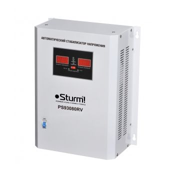 PS93080RV Стабилизатор напряжения релейный 8000 ВA настен