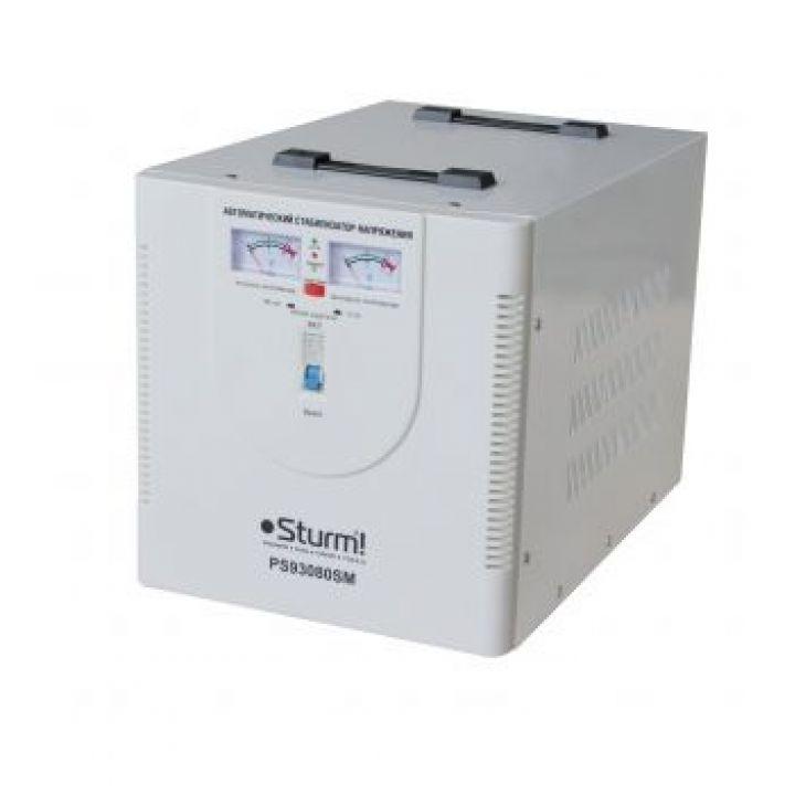 Стабілізатор напруги, сервопривід 8000 ВA STURM (PS93080SM)